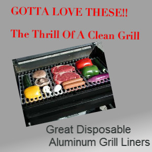 disposable aluminum grill liner