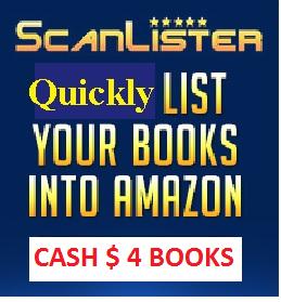 scan books into amazon